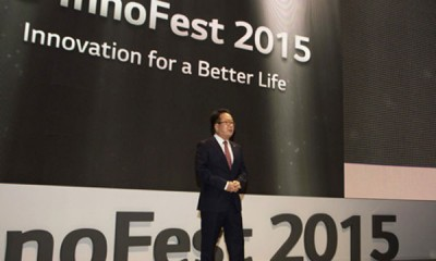 LG Cari Mitra Global di Ajang InnoFest2015