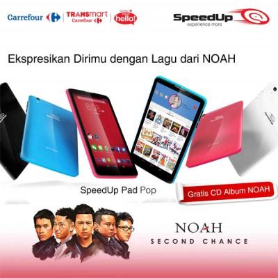 Mulai Dijual Tablet SpeedUp Pad Pop DibanderolRp1.299.000